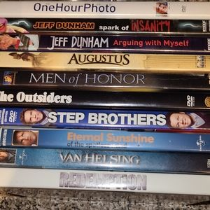 Combo used DVD hardly used 11 in total
